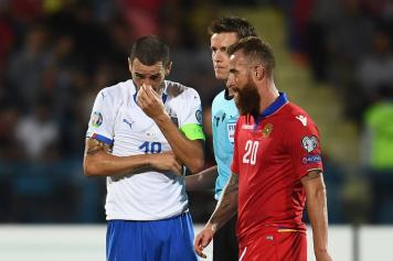Karapetyan.Bonucci.Armenia.Italia.2019.20.jpg GETTY IMAGES