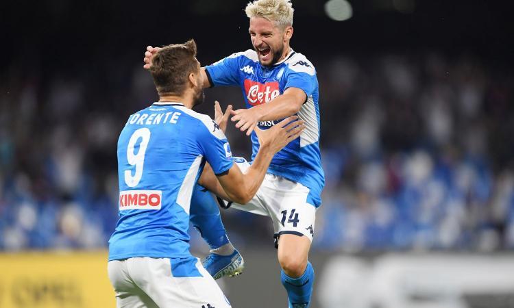 Napoli, un attaccante saluta dopo solo sei mesi. No di Mertens alla Premier