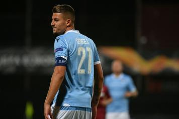 Milinkovic.Savic.Lazio.smorfia.capitano.2019.20.jpg GETTY IMAGES