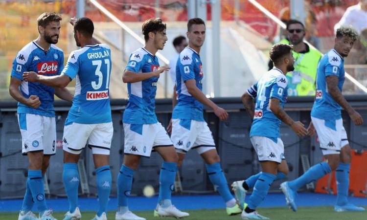 Serie A: poker Napoli. Vince la Samp, Toro ko. L'Atalanta riprende la Fiorentina al 95'