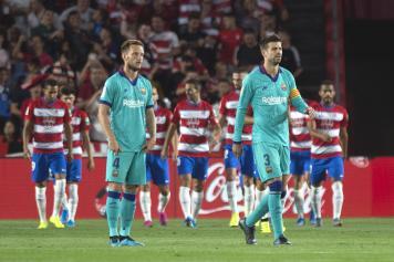 Pique Rakitic Barcellona delusi Granada