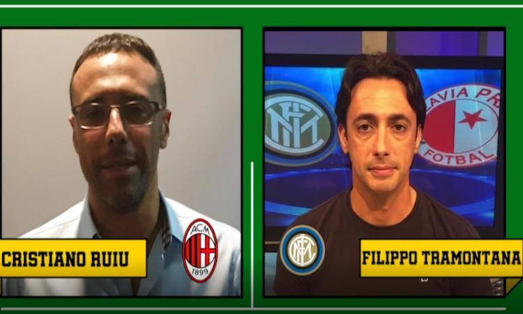 Il derby di CM tra Ruiu e Tramontana: 'Inter come la Juve', 'Questo Milan sembra l'Empoli' VIDEO