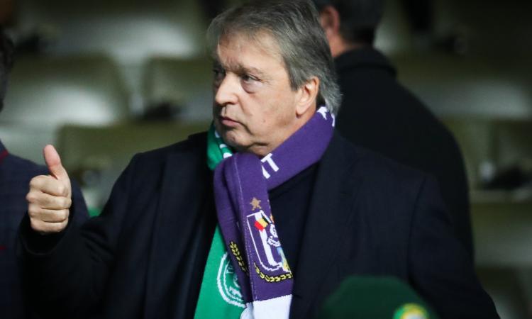 Scandalo in Belgio: arrestato Van Holsbeeck, ex dirigente dell'Anderlecht