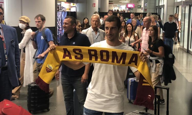 Mkhitaryan: 'Roma? È fantastico. Avrò il mio spazio con l'aiuto di Fonseca'