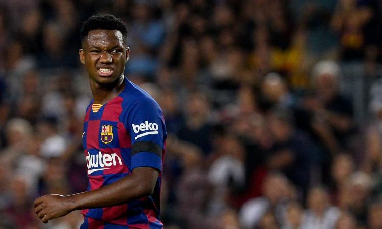 Barcellona, Ansu Fati: 'Ho sempre sognato di giocare per la Spagna'
