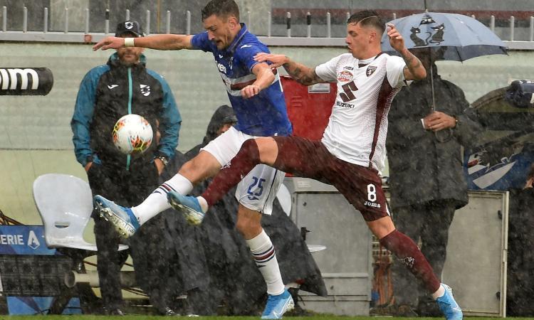 Torino: un centrocampista spera di recuperare per l'Inter