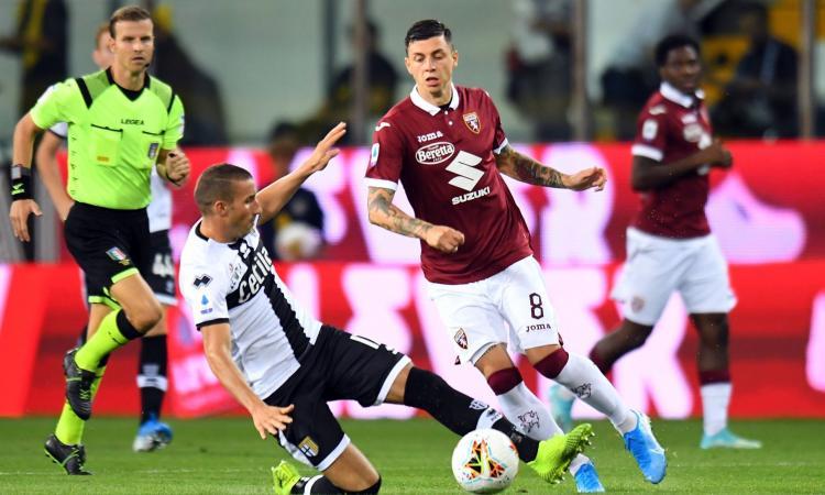 Torino: il centrocampo contro il Napoli