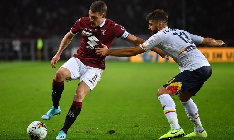 Torino-Lecce 1-2: il tabellino