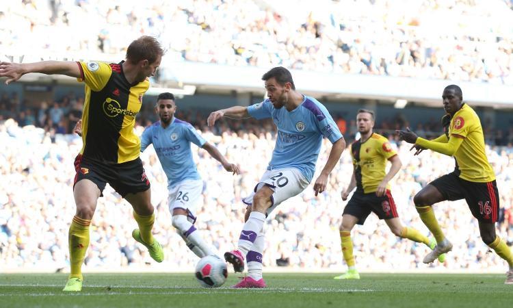 Premier: Manchester City senza pietà e da record, 8-0 al Watford!