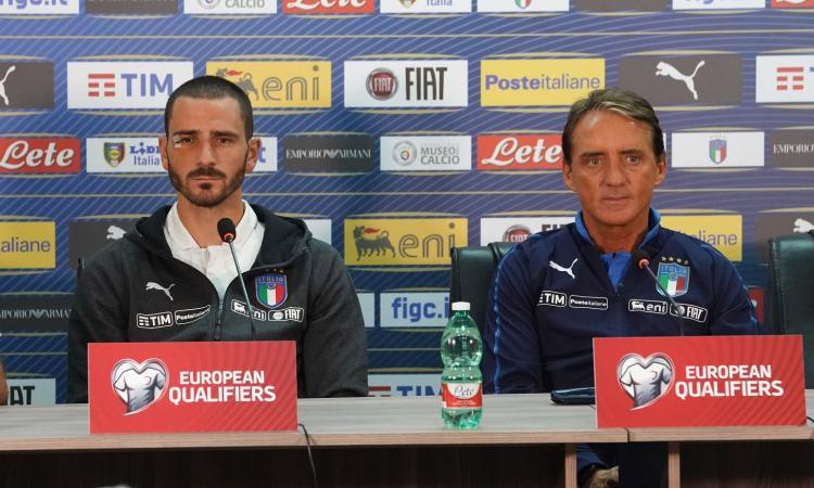 Mancini forte con i deboli: Kean e Zaniolo puniti, Bonucci assolto. Gli tolga la fascia