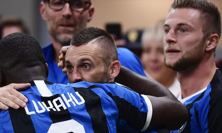 Brozovic-Lukaku, tra i due litiganti il terzo gode: l'Inter