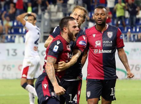 Cagliari-Sampdoria 4-3: il tabellino