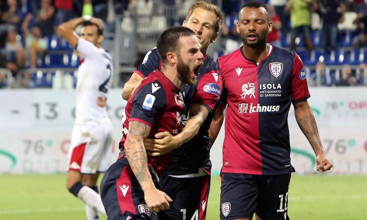 Andreazzoli gioca col turnover, Maran per i tre punti: il Cagliari dimentica i buu a suon di gol e di poesia