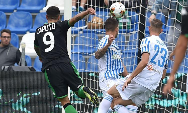 Più De Zerbi per tutti, il Sassuolo schianta la Spal. Mancini, Caputo e Berardi non sono da Nazionale?