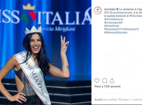 Carolina Stramare è la nuova Miss Italia FOTO e VIDEO