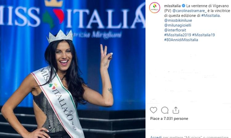Carolina Stramare è la nuova Miss Italia FOTO e VIDEO