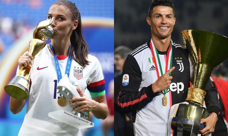 Alex Morgan attacca ancora Ronaldo: 'Stupro? Ci sono troppe prove, ma i soldi lo aiutano...'