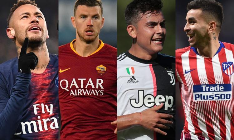 Da Neymar e Dzeko a Dybala e Correa: la top 10 delle trattative saltate