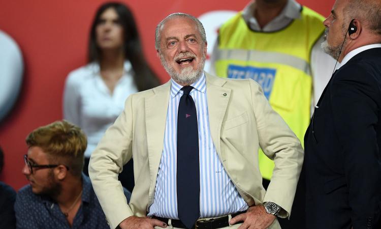 De Laurentiis ad Ancelotti: 'Juve-Napoli? Chi non è in forma stia fuori'