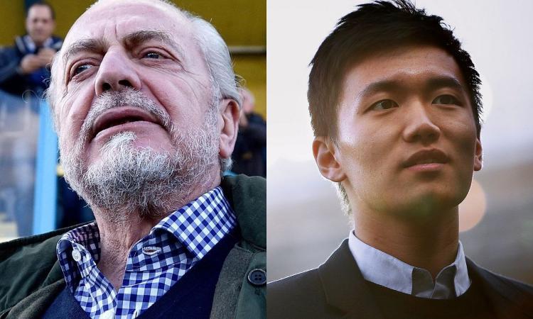 De Laurentiis vs Zhang, è Inter-Napoli per un posto nel consiglio direttivo dell'ECA