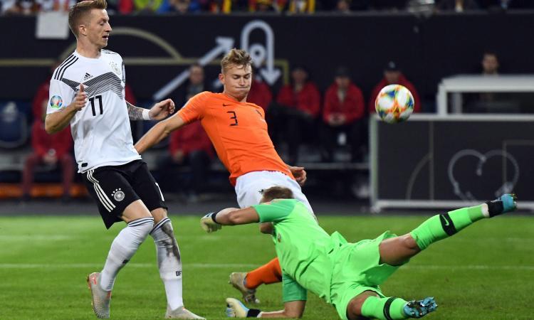 Juve, allarme De Ligt: delude anche in nazionale
