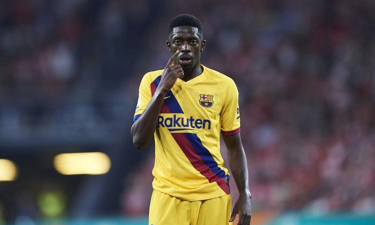 Barcellona: Dembelè vicino a una svolta, la Juve...
