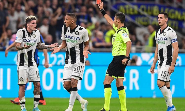 Inter-Udinese, rivivi la MOVIOLA: espulso De Paul per uno schiaffo a Candreva