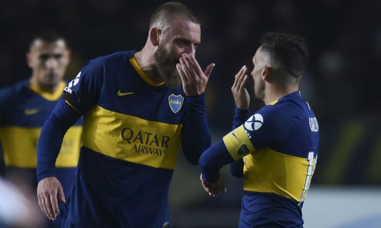 Boca Juniors, altra occasione da titolare per De Rossi