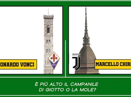 Fiorentina-Juve, il CM duel Vonci contro Chirico: 'Siete una lavatrice sporca'. 'Rivalità? Ma chi vi calcola?'