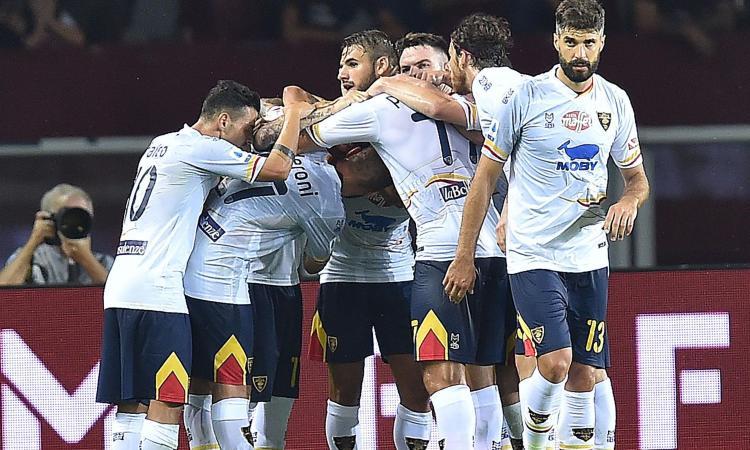 Colpo Lecce: 1-2 in casa del Torino, Inter sola in vetta
