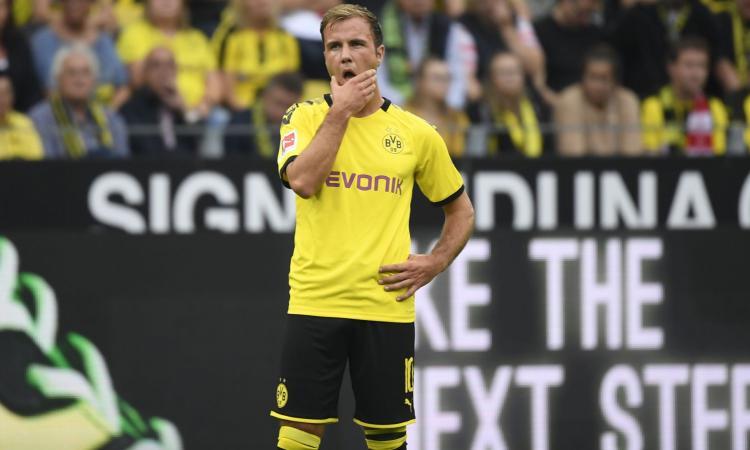 Gotze e l'addio al Dortmund ribadito anche sul campo: c'è il Milan, ma a una condizione