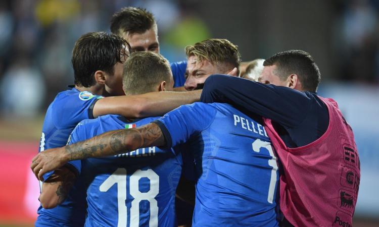 Sesta sinfonia Mancini, l'Italia vince 2-1 in Finlandia: Euro 2020 a un passo