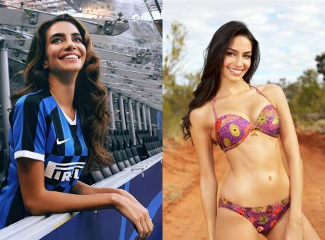 Inter: Jessica non è per tutti, ma incanta a San Siro FOTO e VIDEO