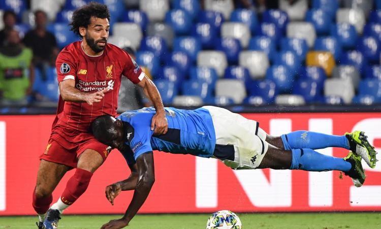 Napoli-Liverpool, le pagelle di CM: Koulibaly perfetto, Llorente decisivo. Male Mané
