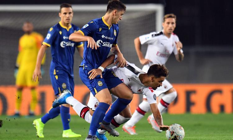 Hellas Verona: lesioni muscolari per Kumbulla e Miguel Veloso
