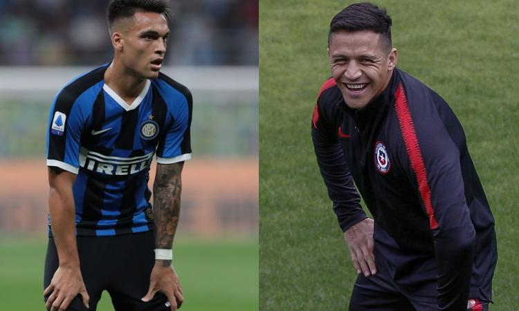 Inter, Sanchez contro Lautaro: prima Cile-Argentina, poi conquistare Conte