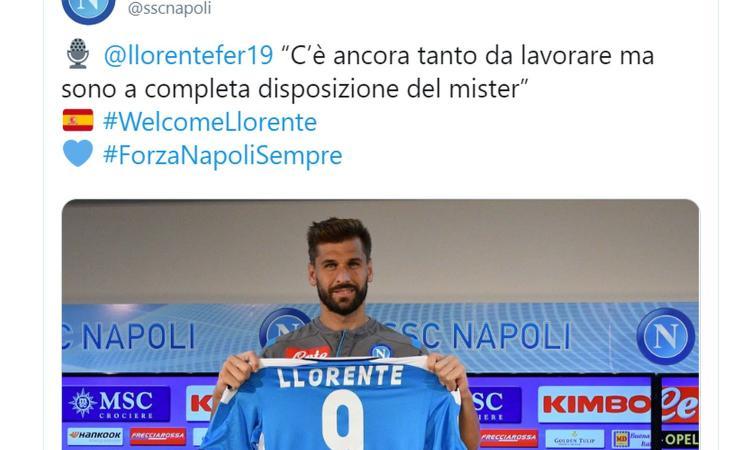 Llorente: 'Ancelotti è un grande, ecco perché ho scelto il Napoli. Scudetto? Preferisco la Champions' VIDEO