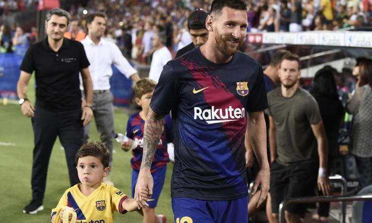 Messi: 'Barcellona è casa mia, non voglio andare via. Su Neymar e CR7...'