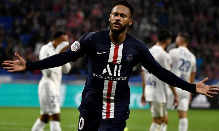 Ligue 1: al PSG basta Neymar per vincere a Lione VIDEO