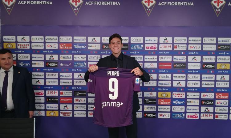 Fiorentina, Pedro non è pronto: si aggrega con la Primavera