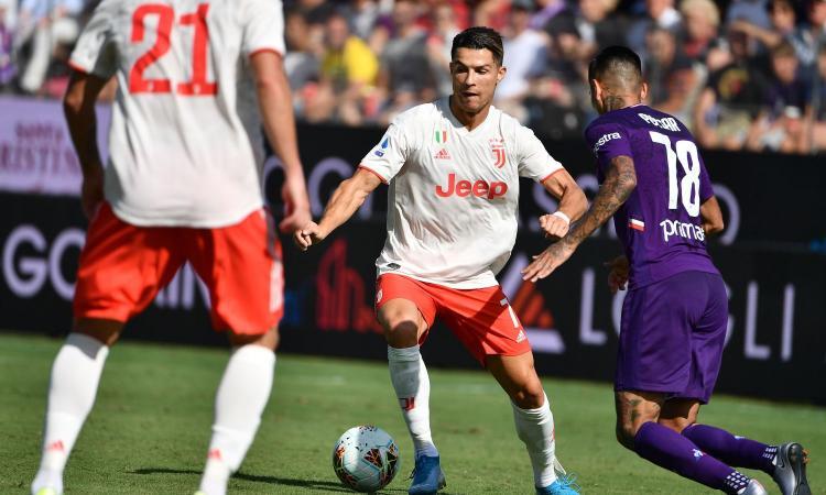 Sarri non sorride alla prima in panchina: 0-0 a Firenze, la Juve perde Pjanic e Costa