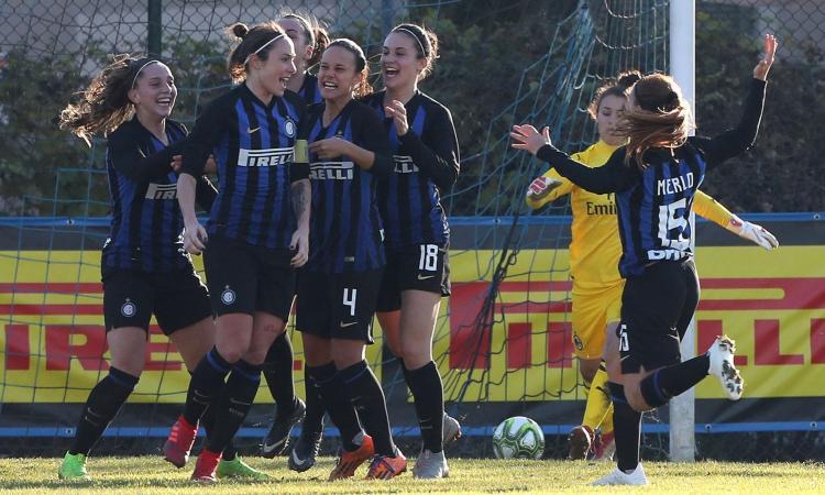 Inter femminile, Baresi: 'Juve squadra da battere, che forte Girelli!'