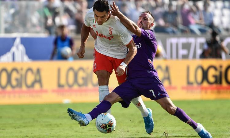Fiorentina-Juve, le pagelle di CM: Ribery sontuoso, stecca Ronaldo