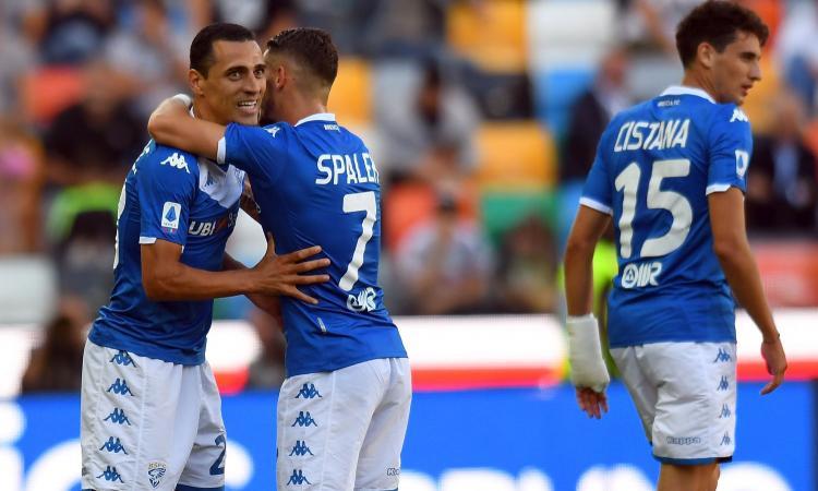 L'Udinese non vince più, Romulo salva Corini e risolleva il Brescia