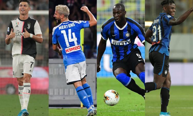 Messi e Ronaldo vogliono il trono del Liverpool. Juve, Napoli, Inter e Atalanta, l'en plein è possibile
