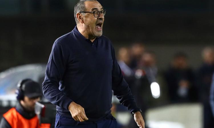 Juvemania: Sarri ha coraggio e la vince ancora con i cambi. E' il peggior Ronaldo di sempre