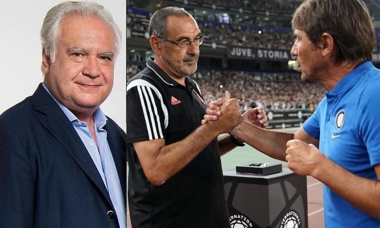 Un cappuccino con Sconcerti: Conte e Sarri, problemi simili: non cambiano Inter e Juve