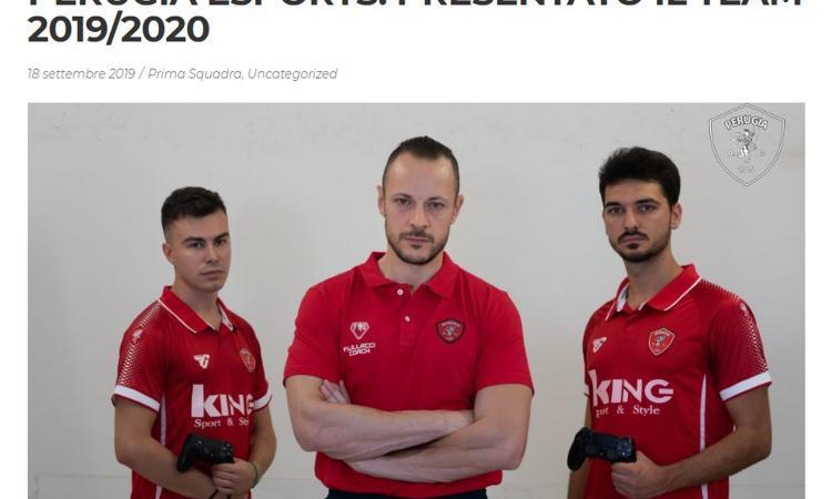 Perugia, UFFICIALE: presentato il team eSports