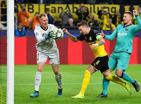 Champions: Dortmund-Barcellona solo 0-0, crolla il Chelsea. Ajax e Salisburgo a valanga
