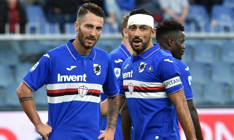 Sampdoria-Atalanta 0-0: il tabellino